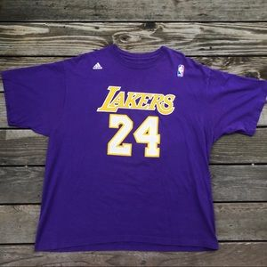 "Adidas Lakers ""Kobe Bryant"" 24 T-shirt Sz Xl"